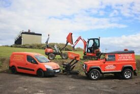 AA MINI DIGGER / DUMPER HIRE (WITH OPERATOR) YOU CANT BUY EXPERIENCE BUT YOU CAN HIRE IT HERE
