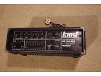 KMD 130W bass head, amp, amplifier