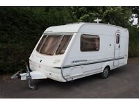Abbey Expression 2003 2 Berth Caravan + Full Isabella Awning