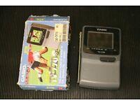 "Casio TV-770 2.3"" Screen -Analogue pocket LCD Television."