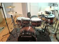 Sonor Select Force Maple S Drive - Brown Galaxy Burst 5Pc- Canadian maple