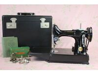 Wanted Singer Sewing Machine 221K/222K featherweight