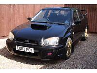 Subaru Impreza WRX STI Type UK Prodrive 2003