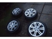 "BMW e90 R17"" M Sport Wheels and Alloys, 320, 318, 325"