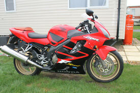 HONDA CBR600FS F4i very good condition for age low milage.