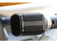 Sony Stereo Dynamic Microphone F-99LT With Dual Adapter Jack