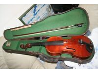 old full sized french violin
