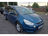 2006 Ford S- MAX ZETEC 1.8 TDCI Diesel, LOW MILES ONLY 75.000 MILES, galaxy zafira sharan alhambra