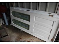 4 exterior doors, loo and sink free to collector