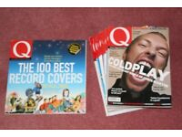 12 Q Magazines + The Best 100 Record Covers Limited Edition