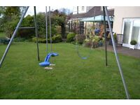 TP Double Swing with Skyrider and Swing