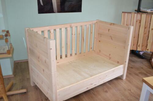 zirbenholz babybett