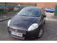 FIAT GRANDE PUNTO (2009)_3dr_ 1.4ltr *** FREE DELIVERY- LEATHER SEATS- LOW INSURANCE ***