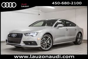 2016 Audi A7 TDI TECHNIK DRIVER ASSIST BLACK OPTICS S-LINE