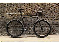 Special Offer GOKU CYCLES Steel Frame Single speed road bike TRACK bike fixed gear fixie bike H2