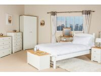 Colorado White Bedroom Furniture **Home Delivery Available**