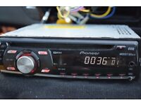 pioneer car cd radio player aux in play ipod/your phone music
