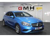 MERCEDES-BENZ A CLASS 1.8 A200 CDI BlueEFFICIENCY Sport 7G-DCT 5dr Auto (blue) 2013