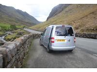 VW Caddy Tdi '06, surf wagon, micro camper, campervan, camper, dayvan