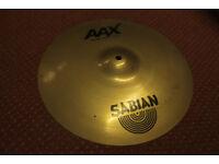 """Sabian AAX 15"""" Studio Crash Cymbal"""