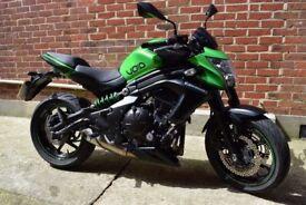Kawasaki ER6N Motorbike - FSH