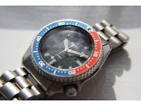 Seiko Scuba Diver's automatic mechanical wristwatch - Japan - '89 - 4205-0158- Pepsi bezel