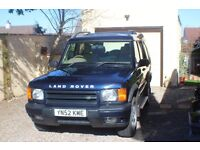 For Sale: Land Rover Discovery TD5 ES Automatic 02 plate in Blue.