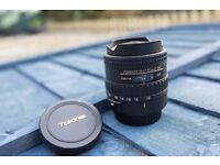 Tokina 10-17mm fisheye - Canon mount