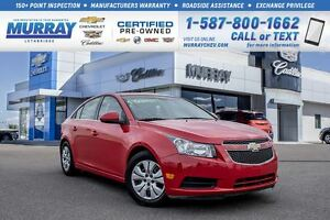 2014 Chevrolet Cruze 1LT **Remote vehicle start! Heated mirrors!