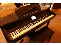 Yamaha CVP-98 Digital Piano, 128 Polyphony, 240W Speakers Including Subwoofer