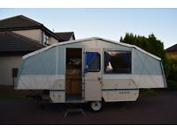 RARE DANDY DESTINY FOLDING CARAVAN - TOP OF RANGE 6 BERTH 1995 MODEL