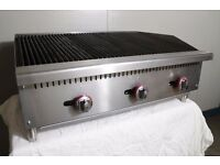 New Gas 910mm Char Grill Nat Gas or LPG