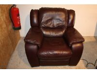 Electric Leather reclining armchair. Free Delivery in Belfast!