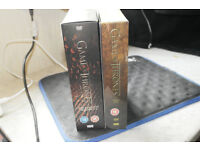 Game Of Thrones Season 1-4 and Season 5 Boxset DVDs.