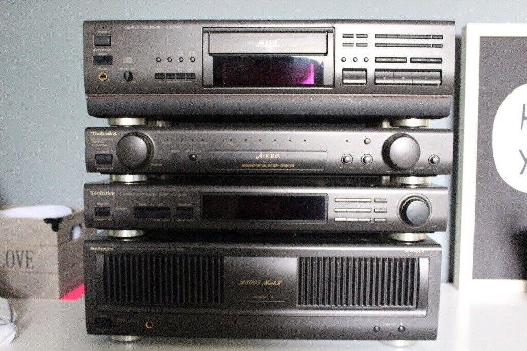 L@@K Technics SE-A800SM2.. Mark II Reference Class AA Amplifier Stereo Controller SU-C800U