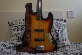 Fretless Jazz Bass - Fender Squier - 4 strings