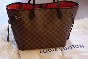 Authentic Louis Vuitton Neverfull MM Damier Ebene (SOLD)