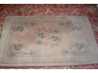 RUG WITH CHINESE DRAGON DESIGN
