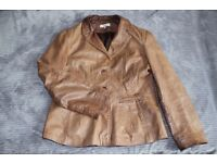 Womens jacket/ coat from Next size 16 - real leather!!!
