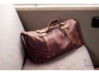 Small Leather Duffle bag