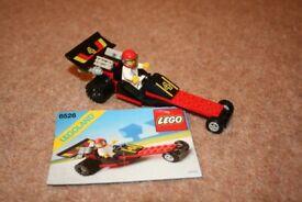 Vintage Lego set 6526 Red Line Racer from 1989