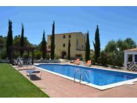 Amazing villa country house Sale near Barcelona, Spain, 8 bedrooms, pool, land, Views, guesthouse