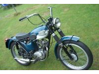 triumph tiger cub SH project