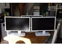 3 x BenQ VW2230H PC Monitor