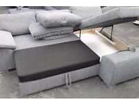 New Grey Corner sofa bed from Jhon Lewis