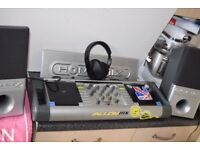 DJ CD MIXING DECK DUAL AIXIN PLAY AND MIX IPOD/PHONE MUSIC