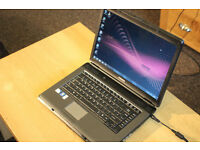 SUPERB TOSHIBA LAPTOP INTEL DUAL CORE CPU 2GB RAM 160GB HDD, NEW CHARGER OFFICE 2016 PRO