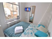 -LARGE STUDIO WITH SEPARATE KITCHEN, JUST BEEN REFURBISHED AND HAS A MEZZANINE SLEEPING AREA