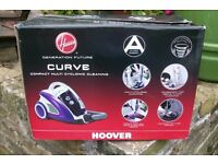 "HOOVER ""CURVE"" CYLINDER BAGLESS VACUUM CLEANER"