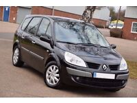 Renault Grand Scenic Dynamique 1.9 dCi 5dr 7 Seater MPV 130 BHP DIESEL BLACK 2008 6 SPEED MANUAL